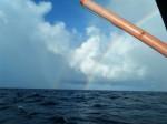 ⑪ヴァヌアツ⇒ミクロネシア:2011年04月14日二重の虹