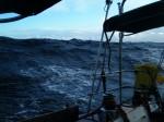 ⑧ニューカレドニア⇒ニュージーランド:2010年10月12日時化の海