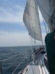 23日の帆走