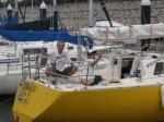 スクール艇の掃除